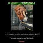 Iranian hackers deface U.S. website in response to assassination of General Ghassem Soleimani
