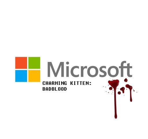 Charming kitten bad blood microsoft